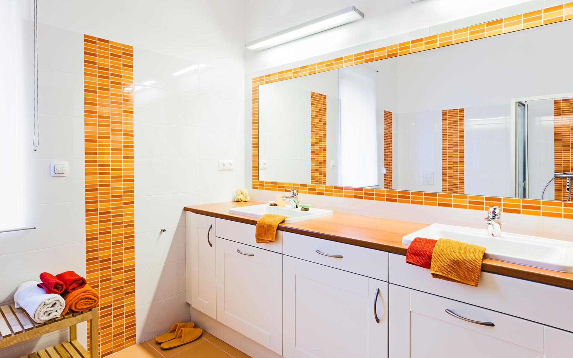 Fürdőszobák lakberendezése minimalista stílusban